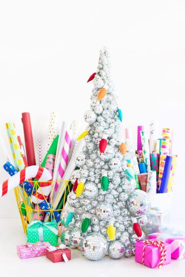 69 Árboles de Navidad originales, artesanales y reciclados para ...