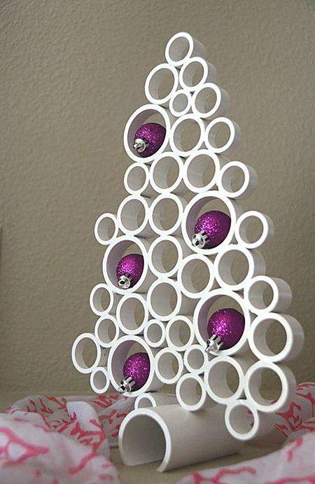 69 Arboles De Navidad Originales Artesanales Y Reciclados Para - Arbol-de-navidad-artesanal