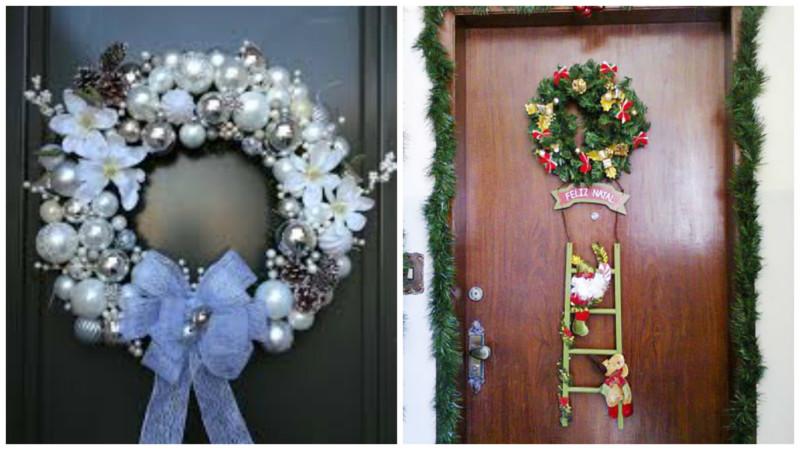 Adornos navide os para puertas y ventanas sportpleinzeeland for Decoracion de navidad para ventanas y puertas