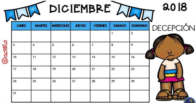 Calendario Diciembre 2018 Argentina.Calendario De Vacaciones 2018 Mas De 100 Plantillas Para
