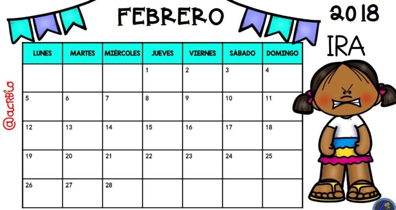 Calendario 2018 Para Imprimir (Anual, Mensual, Escolar