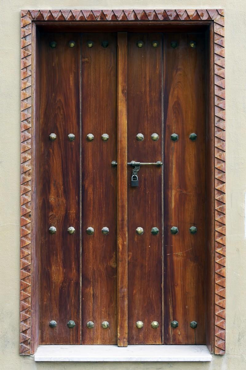 175 puertas de madera para tu casa que te encantar n - Puertas antiguas madera ...