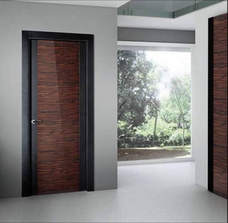 175 puertas de madera para tu casa que te encantar n for Colores para pintar puertas de madera