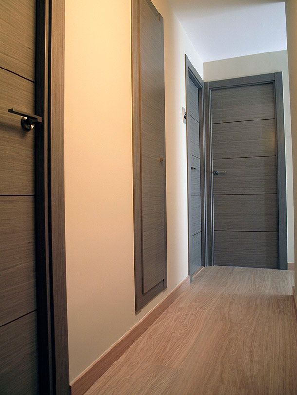 175 puertas de madera para tu casa que te encantar n - Carteles para puertas habitaciones ...