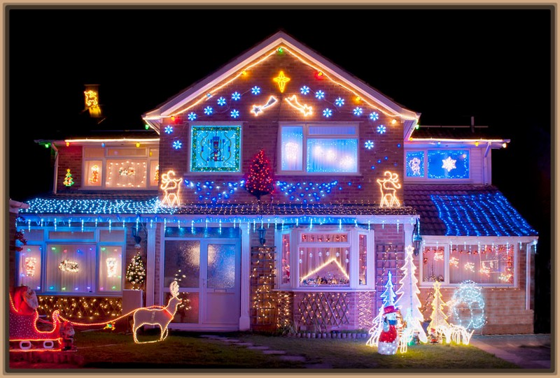 Fotos Casas Decoradas Navidad.Dibujos De Casas Decoradas De Navidad Niza Regalos De