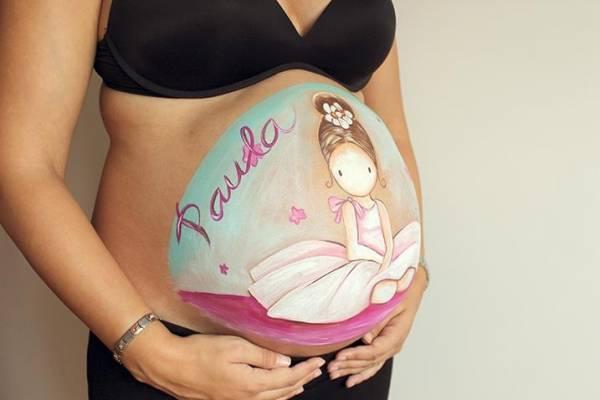 Imágenes De Embarazadas Con Frases Hermosas