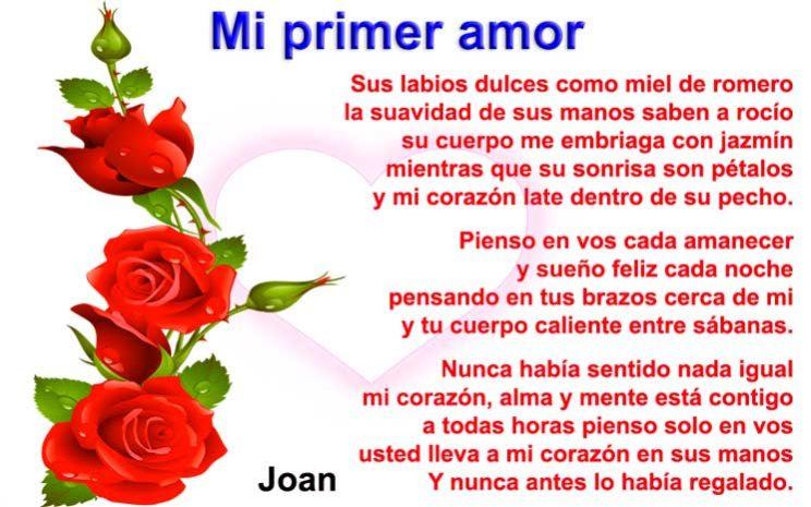 Un poema del primer amor