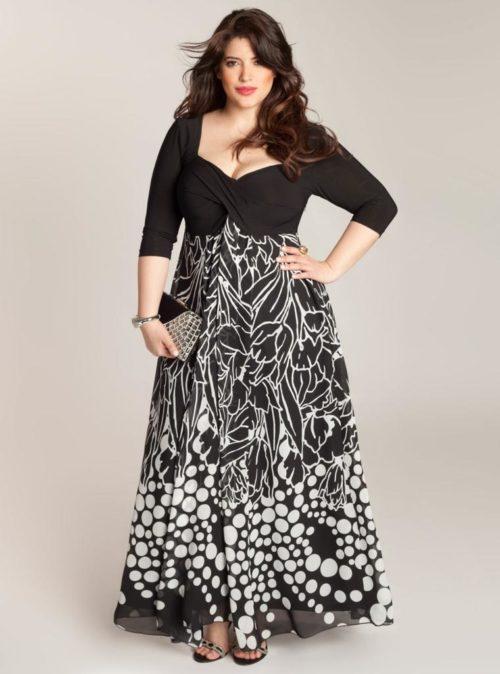 Vestidos para mujeres gordas de fiesta