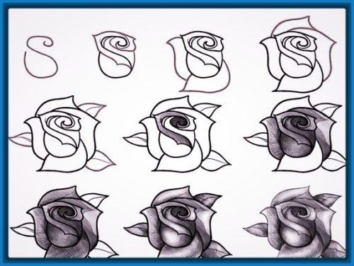 Dibujos A Lapiz Faciles Informacion Imagenes