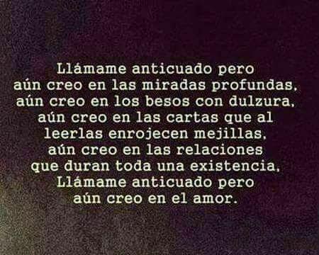 Frases De Amor Que Llegan Al Corazon Aun Creo En Las Miradas