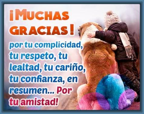 Frases De Agradecimiento Amigos 1 Información Imágenes