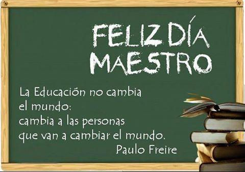 Bonitas Imágenes Del Día Del Maestro Frases Mensajes Y