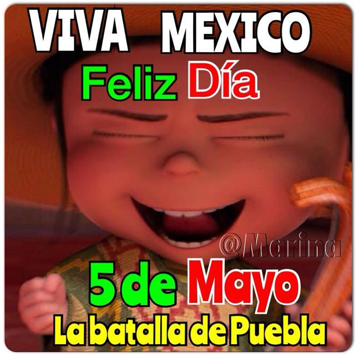 Feliz Cinco De Mayo Conmemoración De La Batalla De Puebla