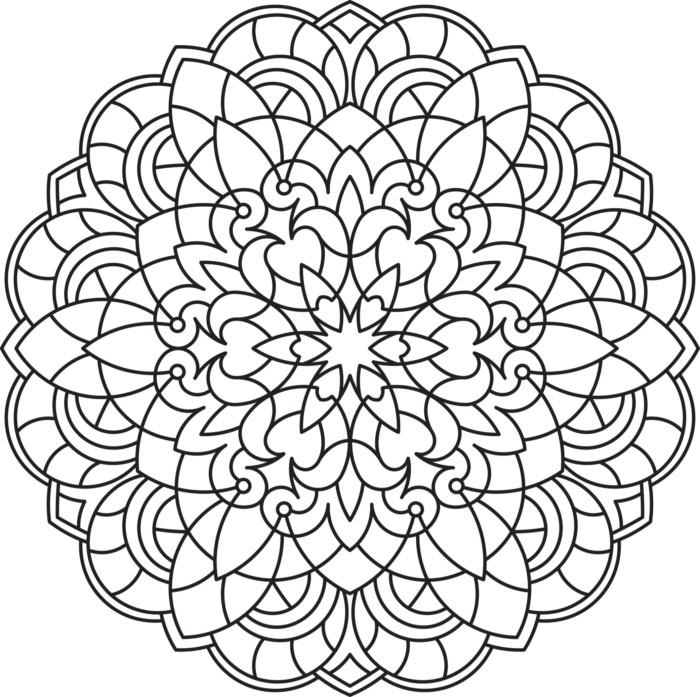 Mandalas: Imágenes de mandalas para colorear, hacer