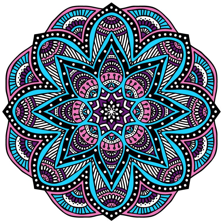 Mandalas im genes de mandalas para colorear hacer - Mandalas en colores ...