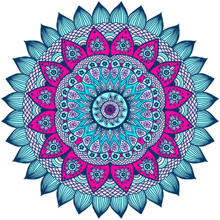 Mandala Color 06 Información Imágenes