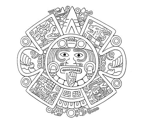 mandalas aztecas (4) | Información imágenes