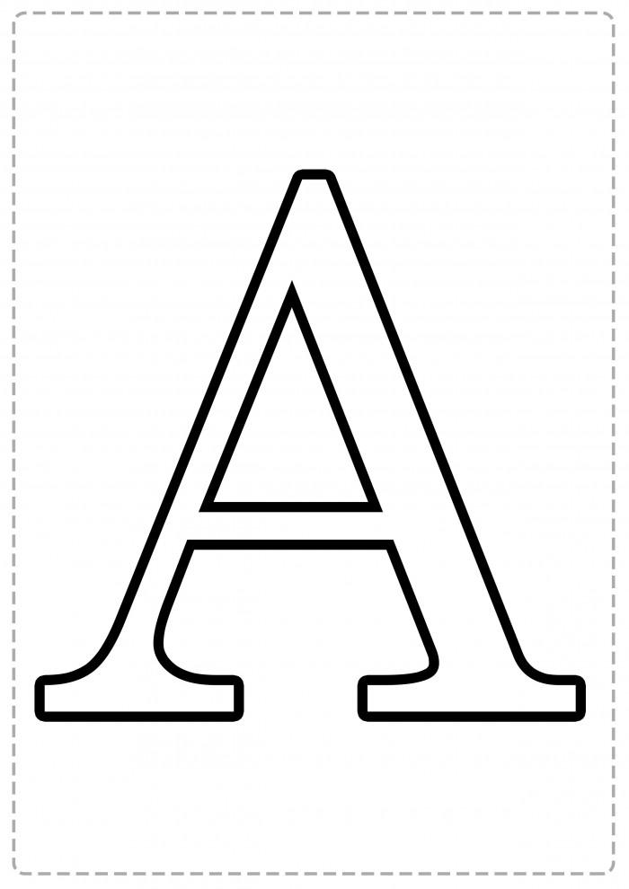 Imágenes de Letras grandes para imprimir   Información imágenes