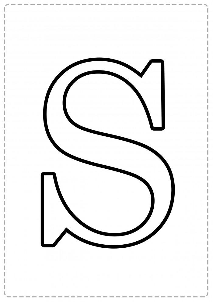 Imágenes de Letras grandes para imprimir | Información imágenes