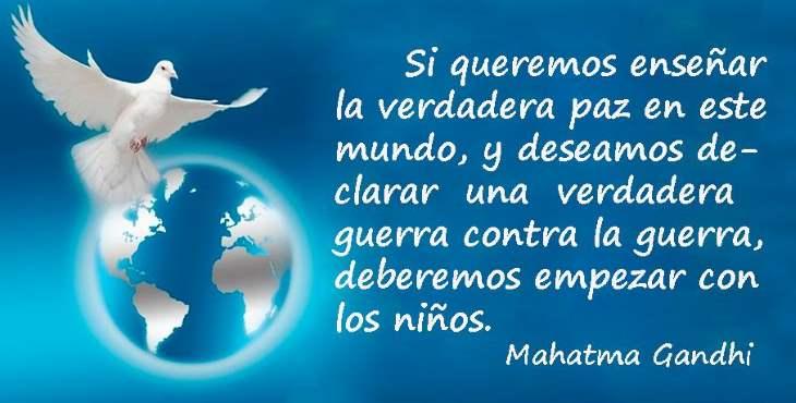 Imágenes Para El Día De La Paz Frases De Amor Respeto Y