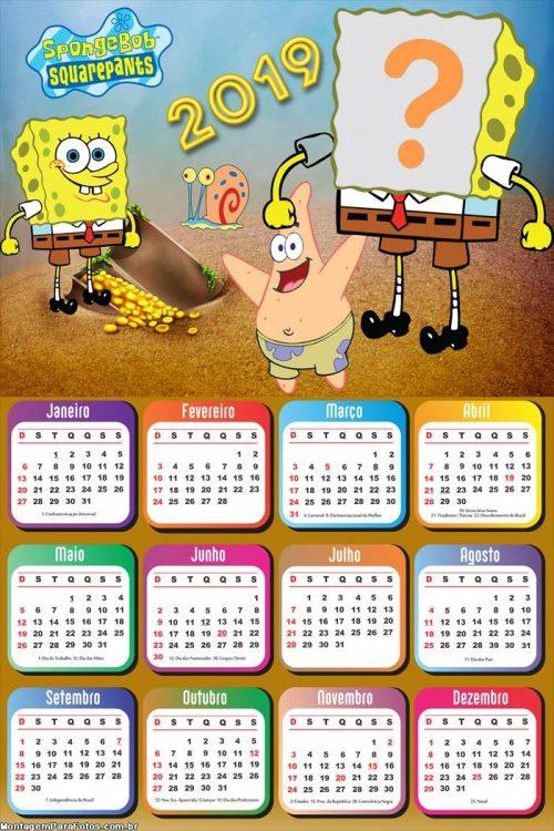 Calendarios 2019 para ni os para