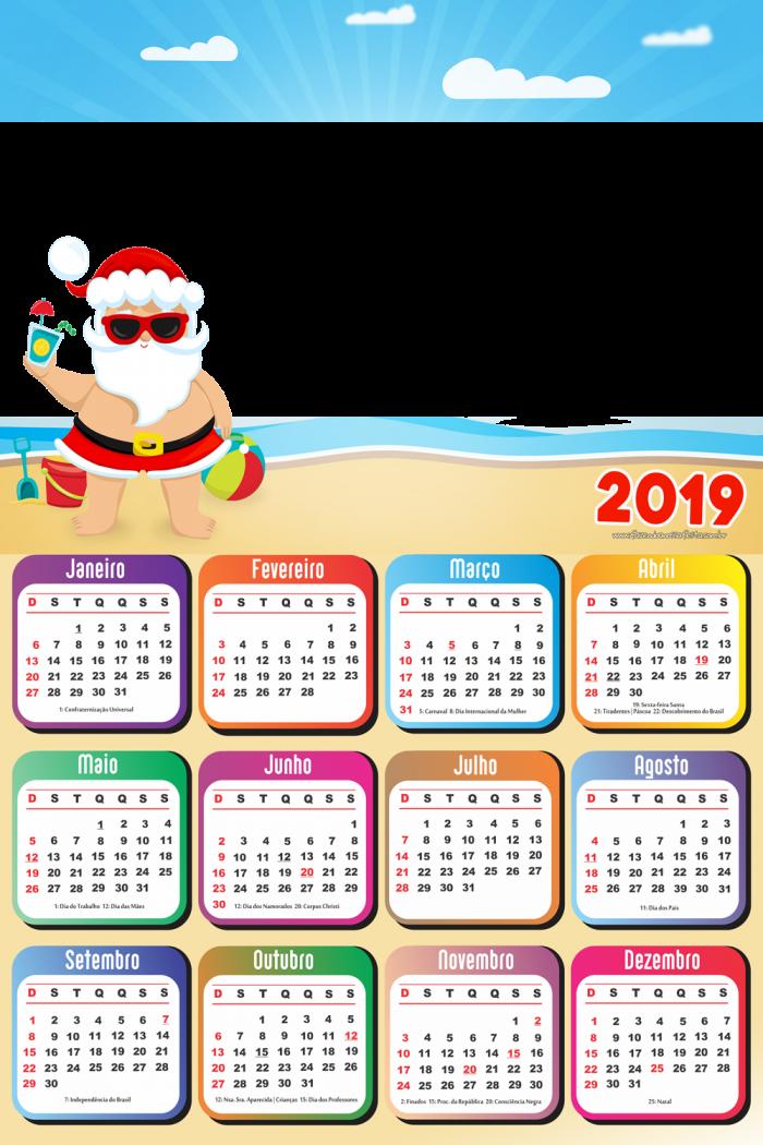 Calendario 2018 E 2019