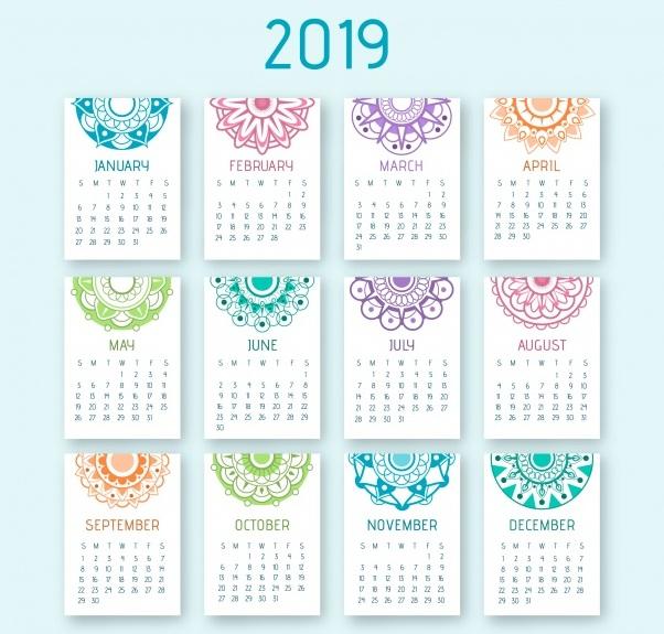Calendario Panama 2019 Con Festivos.Calendarios 2019 Para Imprimir Anual Y Mensual