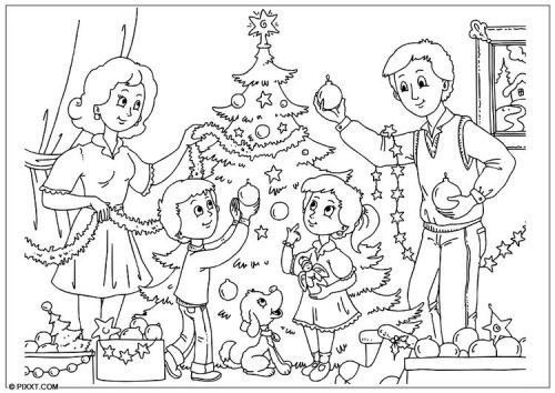 Mejores Dibujos Para Colorear De Navidad 50 Imagenes