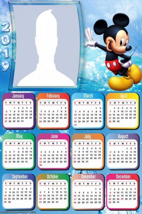 calendarios 2019 para ni u00f1os  para descargar e imprimir