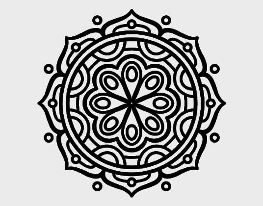 Mandala Para Colorear Mandalas Para Mandalas Para Colorear: Mejores Dibujos De Mandalas Para Imprimir Y Colorear (+50