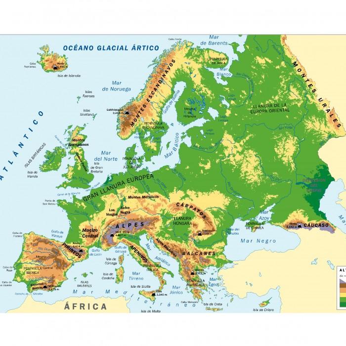 Mapa De Europa Con Nombres Y Division Politica Para Imprimir 50