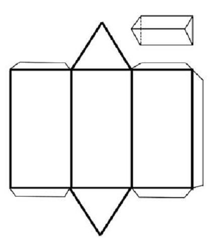 Cuerpos Geométricos Con Nombre Para Armar Colorear E Imprimir
