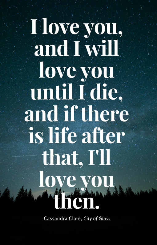 O que quer dizer i love you more em inglês