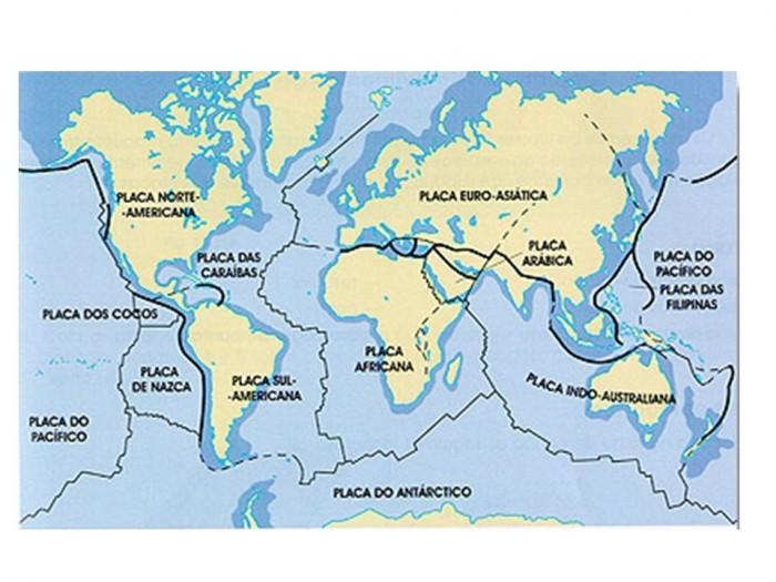 Mapa De Las Placas Tectonicas Que Son Movimiento Tipos Y Teoria